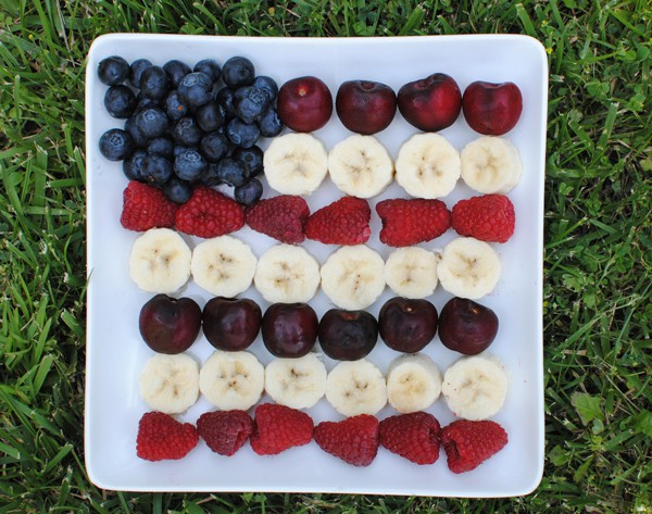 Independence Day Fruit Tray