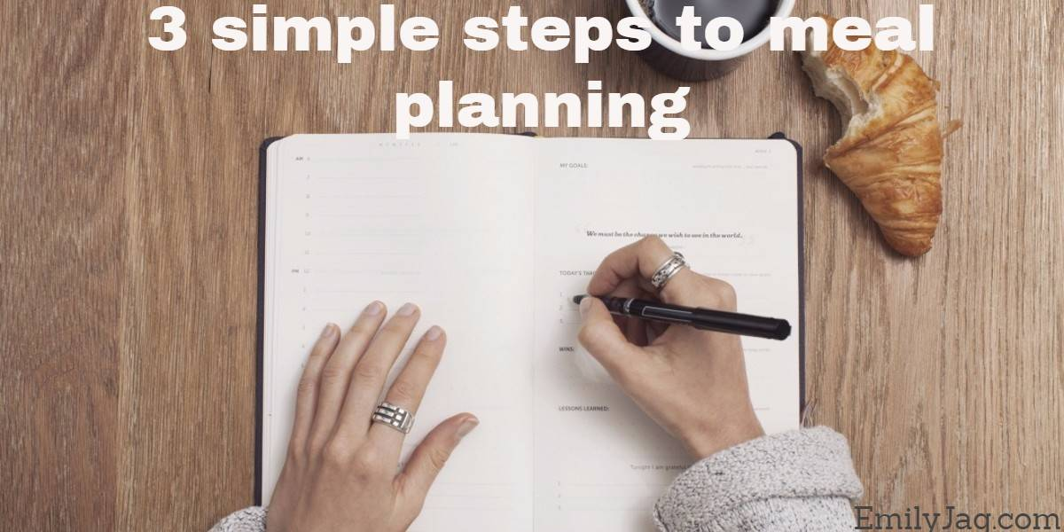 3 simple steps to meal planning ideas for healthy lifestyle moms